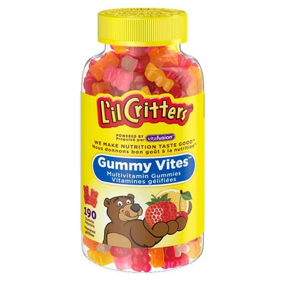 L'il Critters Gummy Vites 190-count bottle (CNW Group/Health Canada)