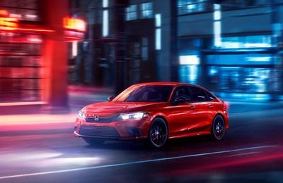 2022 Honda Civic Sedan (CNW Group/Honda Canada Inc.)