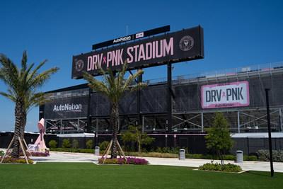 "AutoNation and Inter Miami CF Partner to Drive Out Cancer. Inter Miami CF Renames Stadium ""DRV PNK Stadium"""