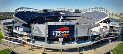 Denver, Colorado's Empower Field at Mile High to host final four featuring men's national teams of Costa Rica, Honduras, Mexico, and the United States.