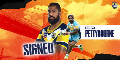 Former National Rugby League Star & USA Representative Eddy Pettybourne Signs 2-Year Brooklyn Kings Deal