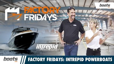 """""""Factory Fridays"""" visits Intrepid Powerboats in Largo, Florida"""