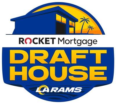 Rocket Mortgage Draft House logo