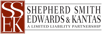 Shepherd Smith Edwards & Kantas LLP. (PRNewsFoto/Shepherd Smith Edwards & Kantas LLP)