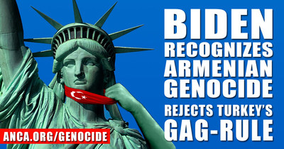President Biden's recognition of the Armenian Genocide effectively ended the longest-lasting foreign gag-rule in American history.