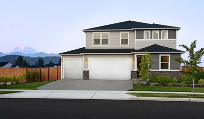 Richmond American's two-story Pearl floor plan is modeled at Seasons at Kemper Loop in Ridgefield, Washington.