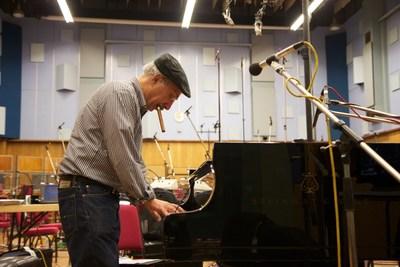 Dan Yessian at Abbey Road Studios in London, 2012.