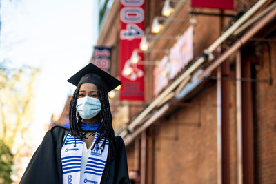 Bentley University celebrates the Class of 2021 with a ceremony at Fenway Park. It was the first college graduation ever held at the historic ballpark.