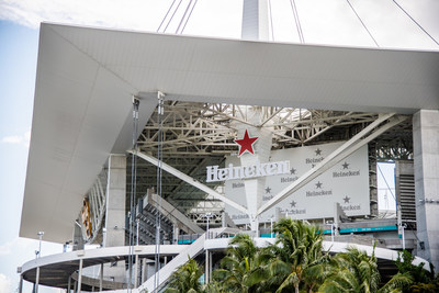 HEINEKEN USA To Be Exclusive Import Beer and Hard Seltzer Partner of the Miami Dolphins and Hard Rock Stadium
