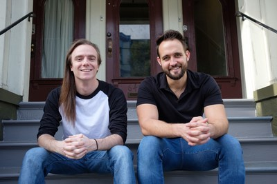Kevin Redman, CTO and Richard Nelson, CEO, Co-founders of Roofr.