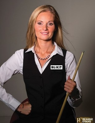 Reanne Evans MBE, the current Women's World Snooker Champion and World Number 1, has joined Ronnie O'Sullivan and Jimmy White in becoming a Brand Champion for technology giant ROKiT.