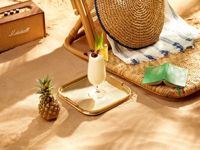 Fro-Tro Pina Colada Cocktail