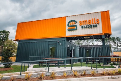 Smalls Sliders, the hyper-focused cheeseburger slider drive-thru concept is backed by Walk-On's founder Brandon Landry and former NFL Quarterback Drew Brees.